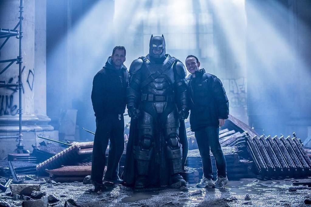 rodaje de Batman V Superman
