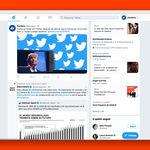 Así es el nuevo diseño web que Twitter está probando para conocer las opiniones de los usuarios: de momento son negativas