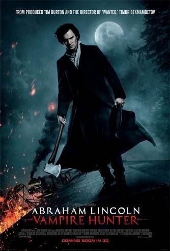 'Abraham Lincoln: Cazador de Vampiros', tráiler final y cartel definitivo