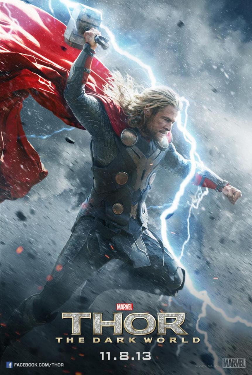Foto de Thor: el mundo oscuro carteles (1/4)