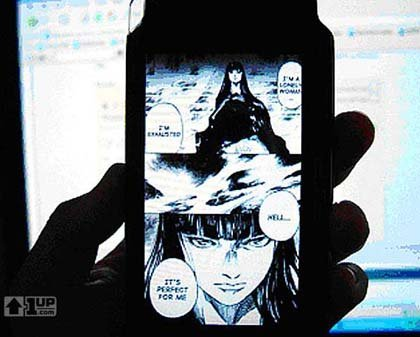 Manga en tu PSP