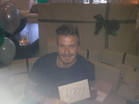 David Beckham, un no parar de celebraciones de cumple