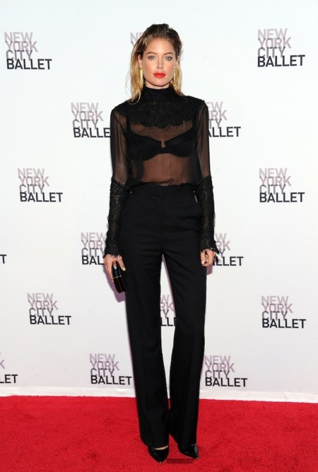 Doutzen Kroes new york city ballet
