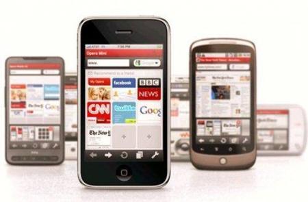 Opera Mini para el iPhone descargado 1 millón de veces el primer día