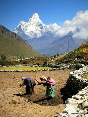 En Nepal, los bebés no lloran