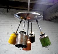 Recicladecoración: la original colección de lámparas de RebornLighting de estilo vintage industrial