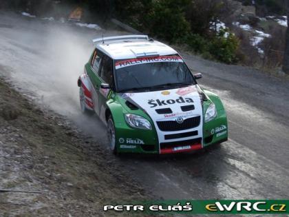 Espectacular comienzo del Rally de Montecarlo