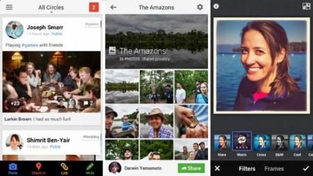 Google+ para iOS se actualiza para incorporar las últimas novedades de la red social
