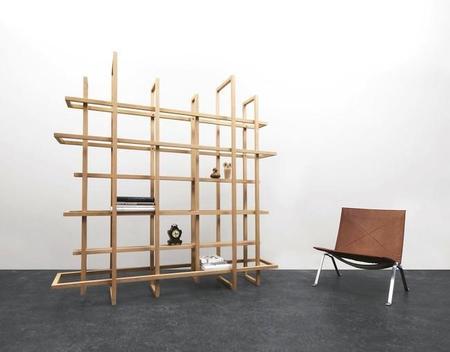Frames 2.0, estantería y divisor de espacios, dos en uno