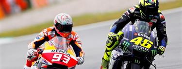 Ganar en MotoGP con motos diferentes: la batalla por un relato que impuso Valentino Rossi y al que Marc Márquez renuncia