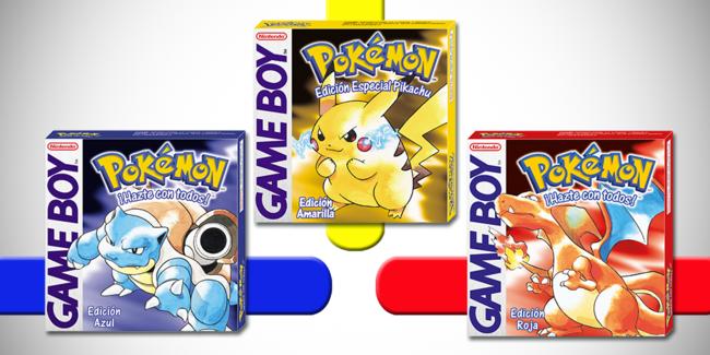 Pokemon Azul Rojo Amarillo