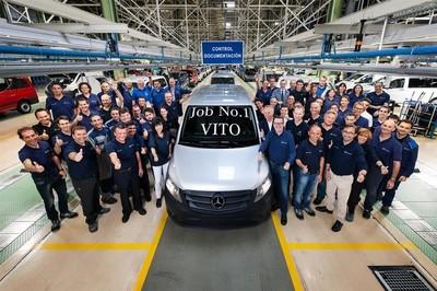 Mercedes-Benz Vito, la nueva generación ya sale de fábrica