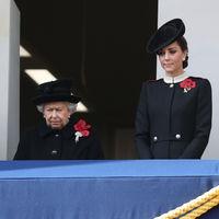 Los abrigos de Kate Middleton y Meghan Markle protagonistas de sus looks en el homenaje a los caídos en la Primera Guerra Mundial
