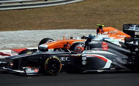 Force India acusa a Pirelli de causar la recuperación de Sauber