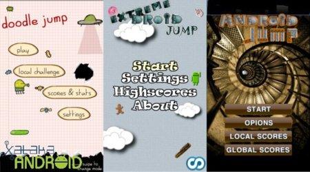 Los mejores juegos de saltar en Android