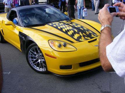 Efectivamente, era el Chevrolet Corvette ZR-1