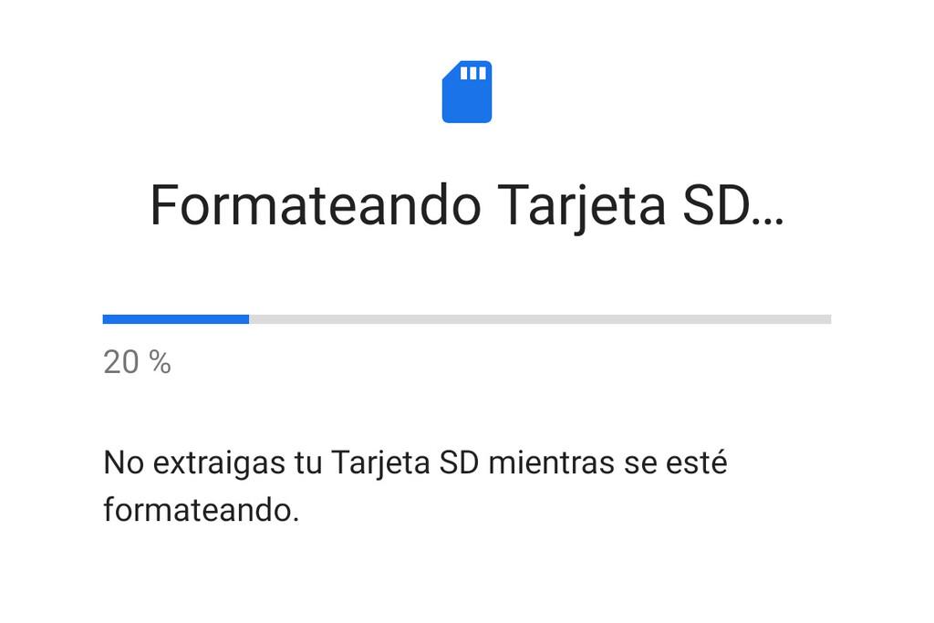 Cómo formatear la tarjeta MicroSD desde un móvil Android
