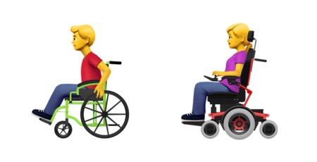Apple Wheelchair Emoji