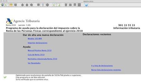 Renta 2010: ya podemos descargar el programa PADRE