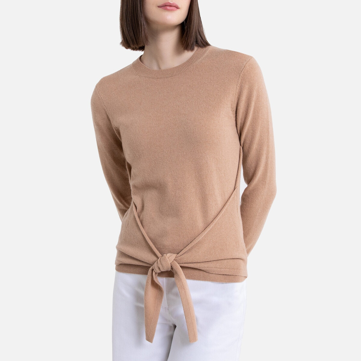 Jersey de lana mayoritariamente cachemir