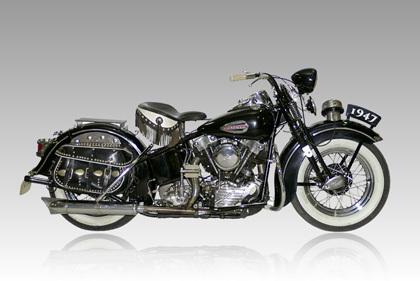 Seis motores para una historia, Harley Davidson Knucklehead (2)