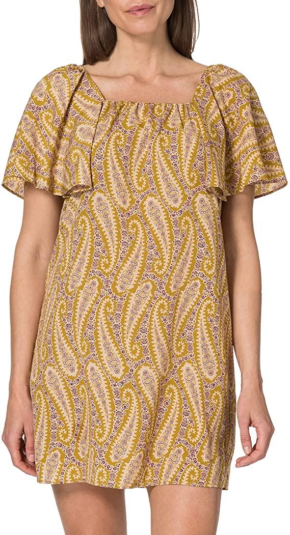 Vestido de Sisley estampado