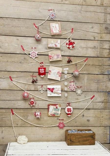 Expositor de tarjetas de Navidad