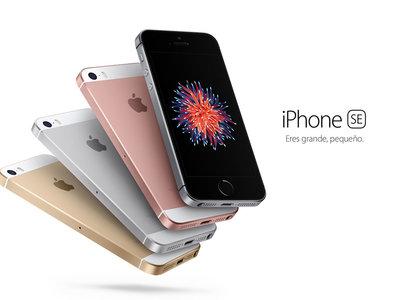 El pequeño, pero potente, iPhone SE ahora por 302,99 euros y envío gratis