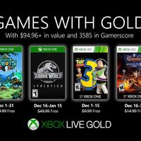 Jurassic World Evolution y Castlevania: Lords of Shadow - Mirror of Fate HD entre los juegos de Games With Gold de diciembre