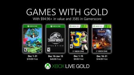 Jurassic World Evolution y Castlevania: Lords of Shadow - Mirror of Fate HD entre los juegos de Games With Gold de diciembre