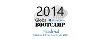 Global Windows Azure Bootcamp Madrid 2014