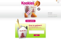 Kookies, creando nuestros mensajes de la suerte