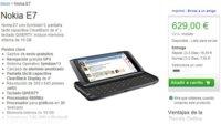Nokia E7 disponible en la tienda oficial Nokia por 629 euros