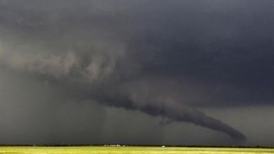 [Vídeo] El momento exacto en el que nació el tornado de Oklahoma