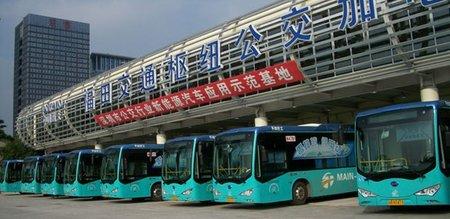 Shenzhen cambiará su flota de autobuses y taxis por eléctricos