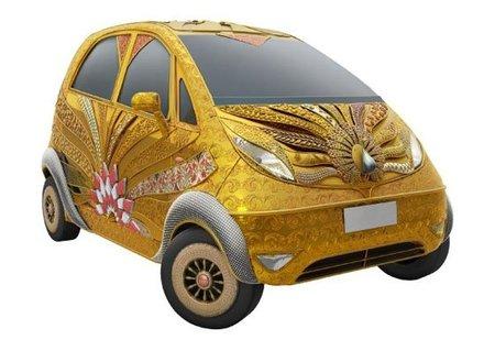 Tata Goldplus Nano, una chocante idea para llamar la atención