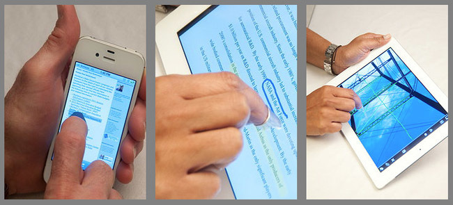 tip Tec for Touchscreen