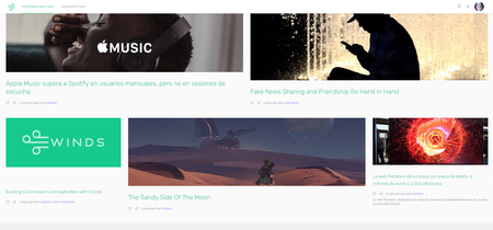 Winds es un lector de feeds open source, potenciado por IA y con un excelente diseño