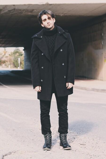 El Mejor Street Style De La Semana Sueter Cuello Alto Negro 02