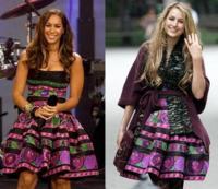 Vestido de Roberto Cavalli: ¿Leona Lewis o Leelee Sobieski?