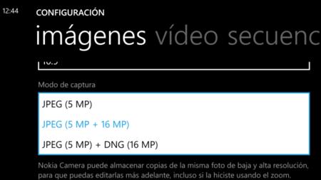 Lumia 930 opciones de archivo