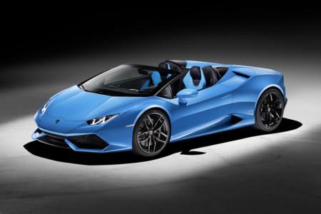 Así es el Lamborghini Huracán LP 610-4 Spyder, el superdescapotable de Sant'Agata Bolognese