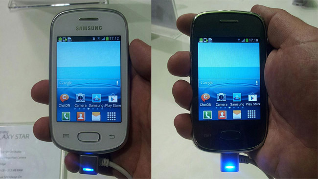 Samsung Galaxy Star y Samsung Galaxy Pocket Neo