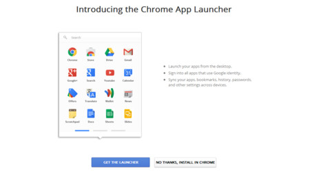 Google anuncia el final del lanzador de Chrome apps para Windows, Mac y Linux
