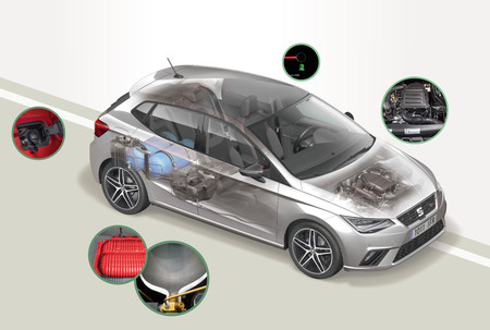 SEAT Ibiza GNC por dentro