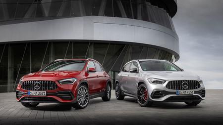 Los Mercedes-Benz GLA más deportivos desembarcan en España: el AMG GLA 35 y el AMG GLA 45 S, desde 63.950 euros y 84.875