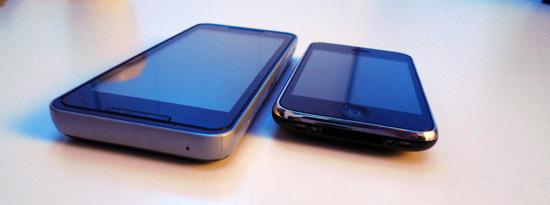 Foto de LG GW990, el primer teléfono con procesador Intel Moorestown (1/8)