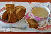 Bizcocho de miel y especias sin grasa. Receta