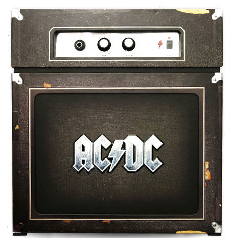 BackTracks, nuevo Box Set de rarezas de AC-DC en un amplificador real