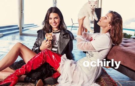 Kendall Jenner Bella Hadid Ochirly Fall 2017 Campaign31830